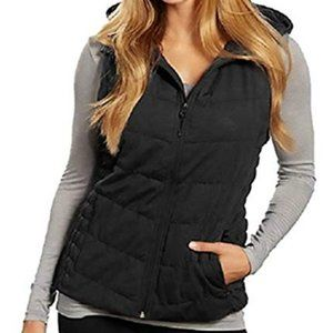 Be by Blanc Noir Puffy vest with Hood